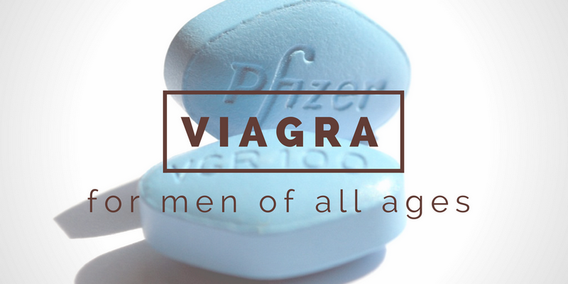 Viagra for men of different ages